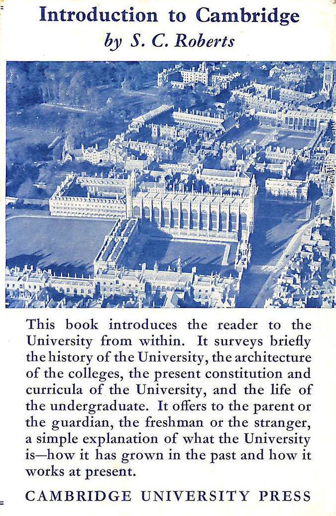 Image for Introduction To Cambridge.