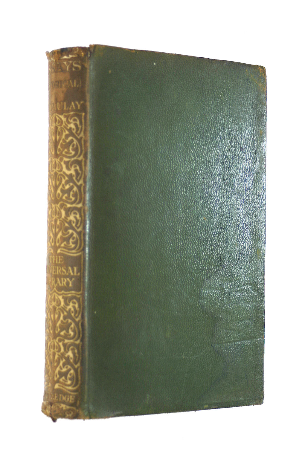Image for The Works Of Lord Macaulay: Ii - Historical Essays