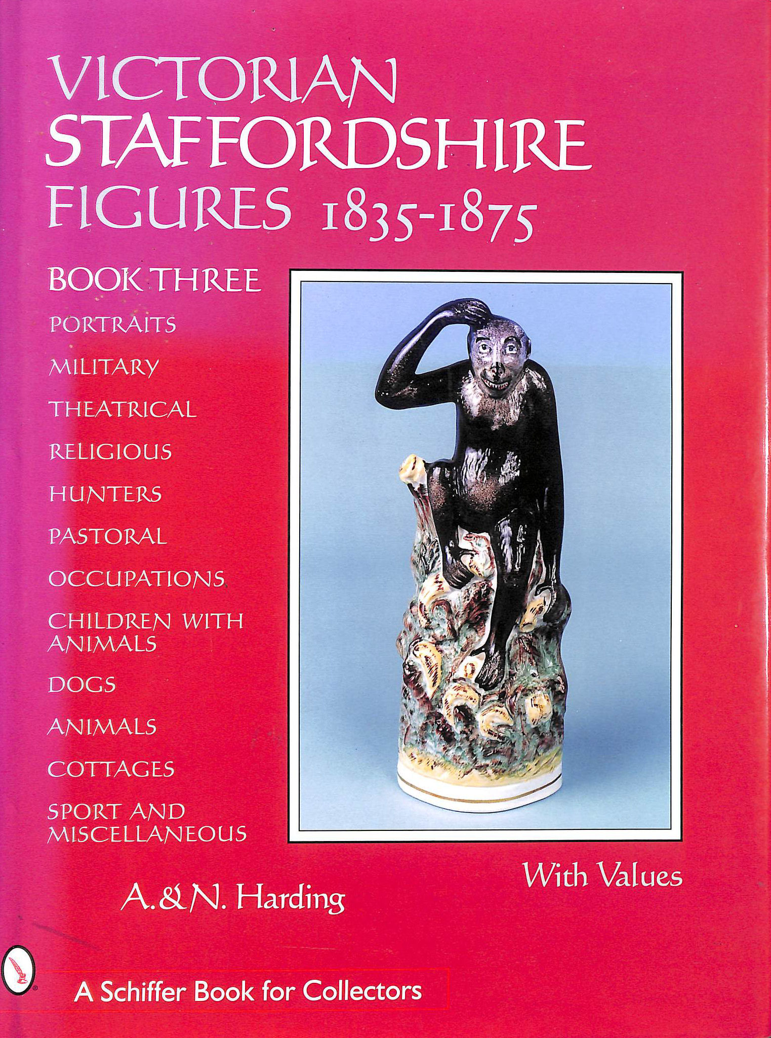 Image for Victorian Staffordshire Figures 18351875: Bk. 3 (Schiffer Book For Collectors)