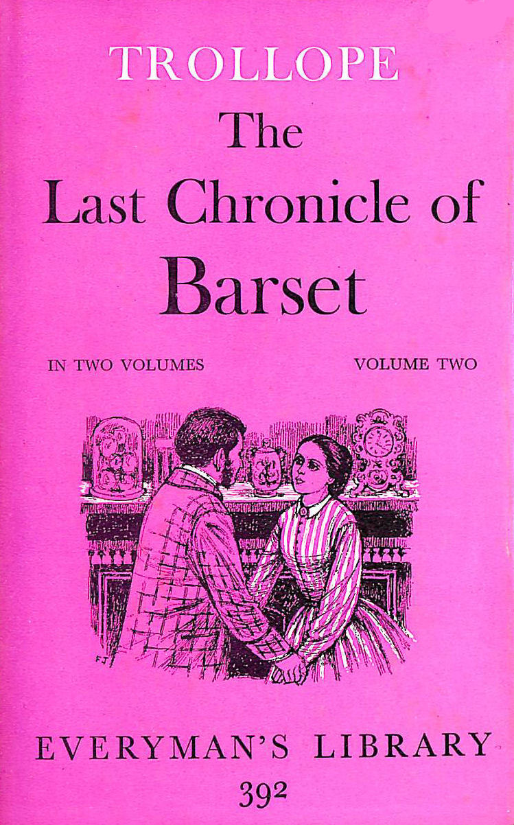 Image for Last Chronicle Of Barset: Vol 2 (Everyman's Library)