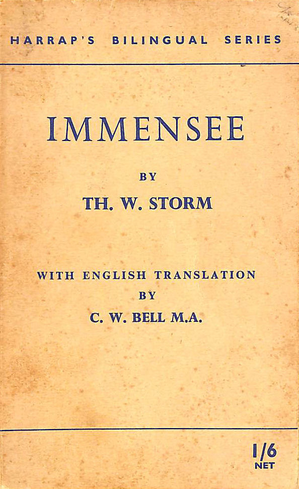 Image for Immensee. German. & English