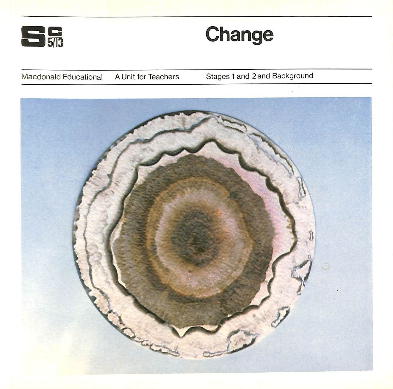 Image for Science 5-13: Change: Stages 1 & 2 And Background