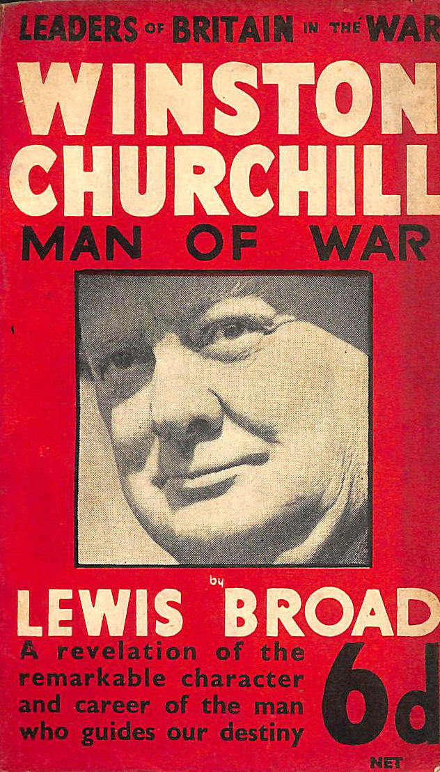 Image for Winston Churchill Man Of War Leaders Of Britain
