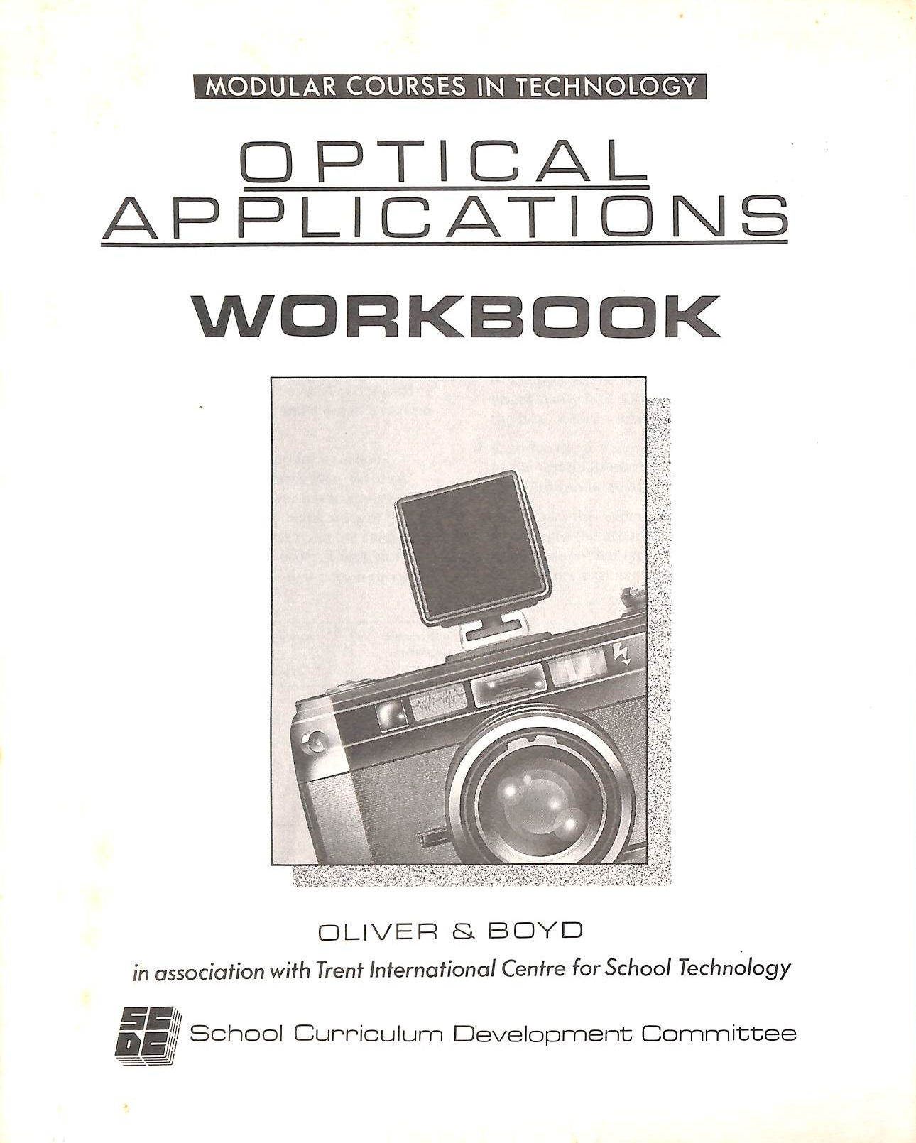 Image for Modular Courses In Technology: Optical Applications: Workbks (Mct)