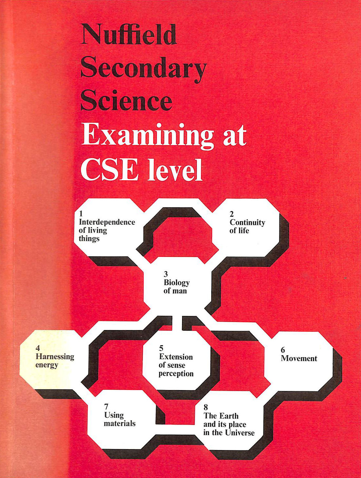 Image for Nuffield Secondary Science: Examining At C. S. E. Level