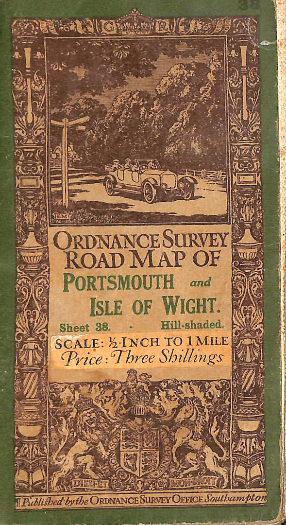Image for Ordnance Survey Map Of Southampton, Portsmouth And Isle Of Wight