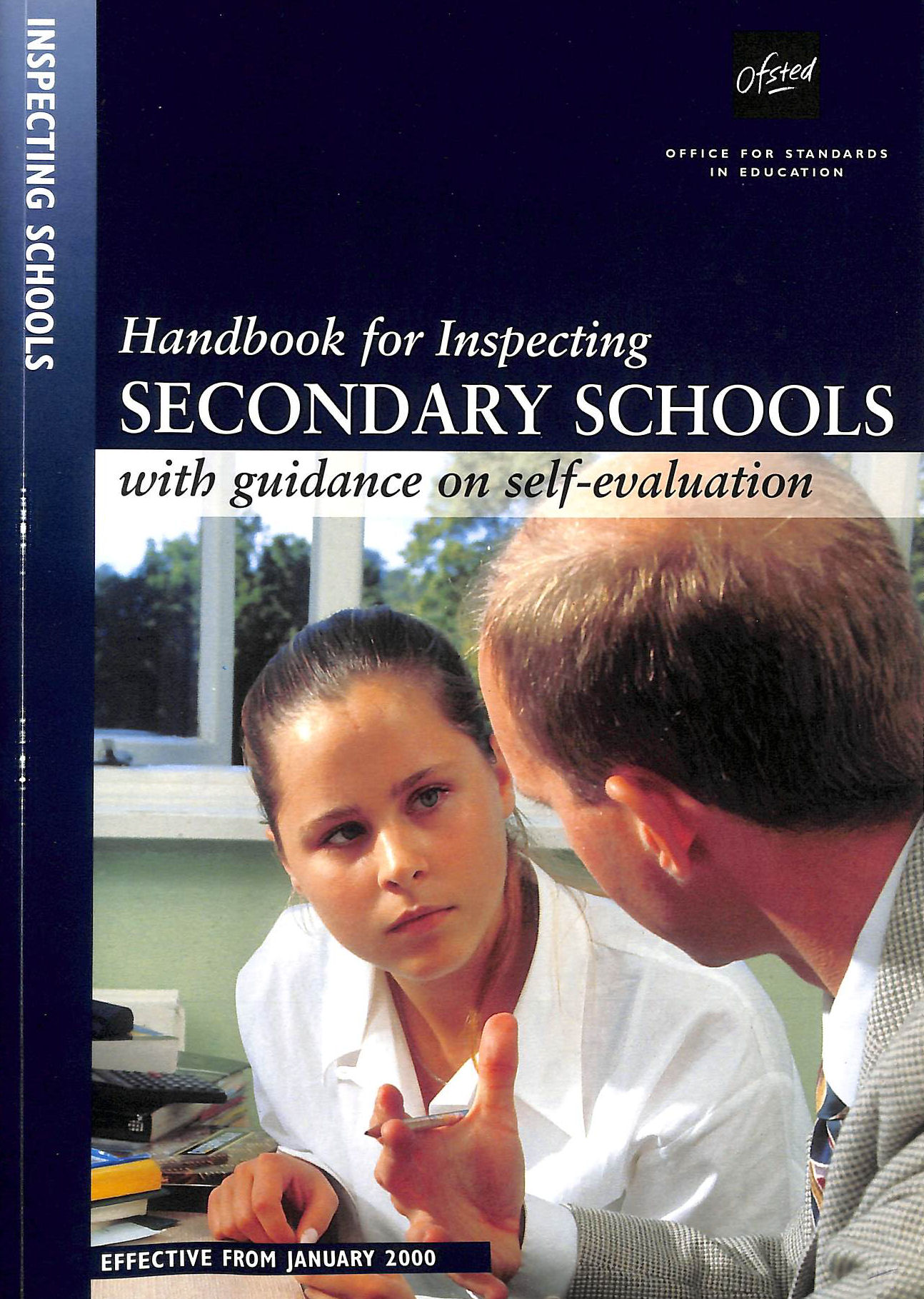 Image for Handbook For Inspecting Secondary Schools (Ofsted Handbook)