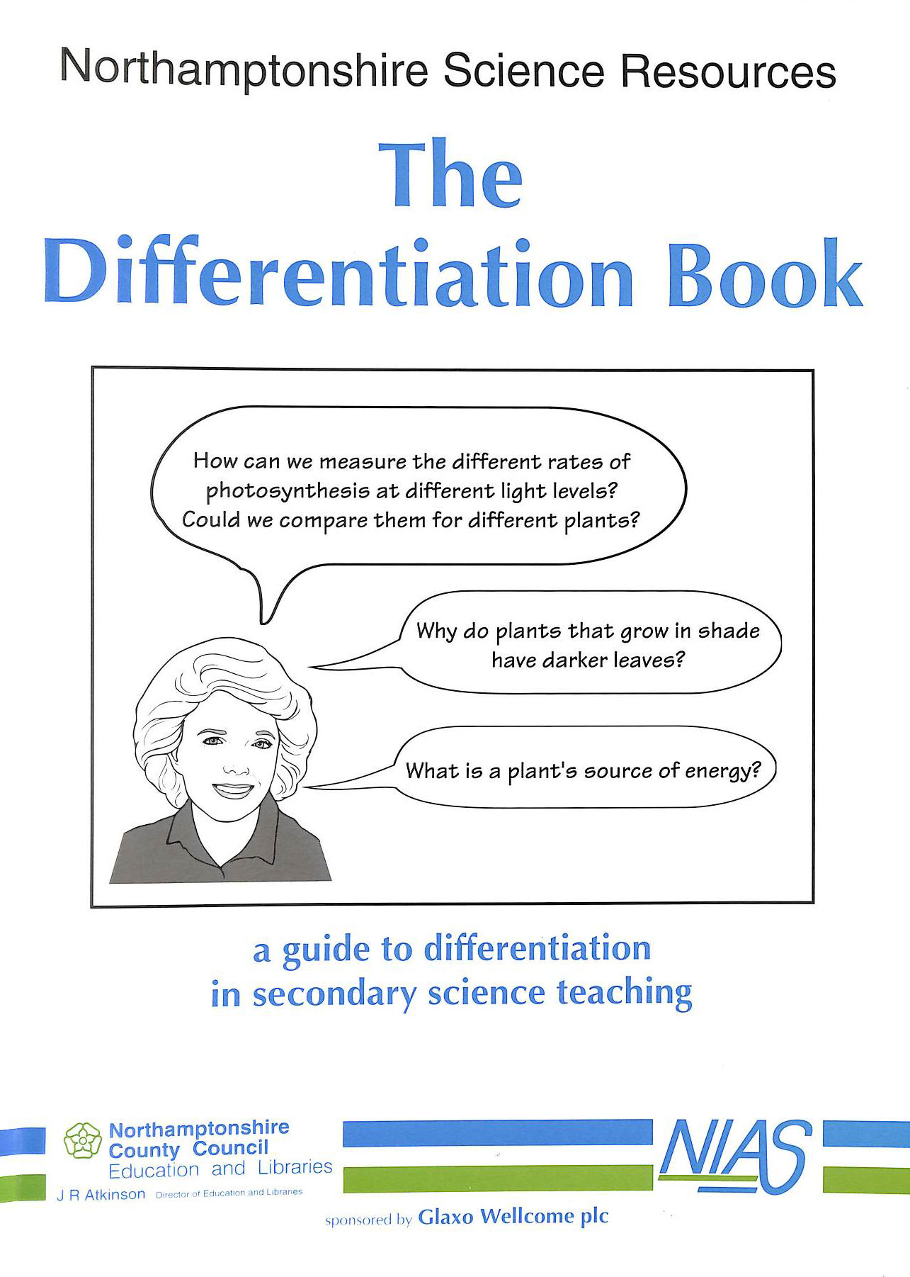 Image for Differentiation Book: A Guide To Differentiation In Secondary Schools (Northamptonshire Science Resources)