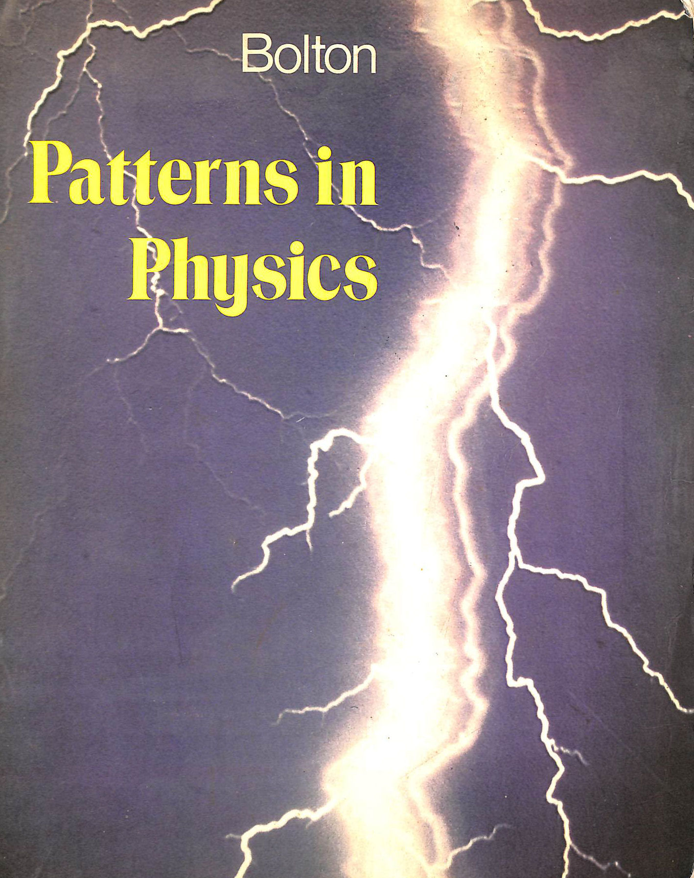 Image for Patterns In Physics (Secondary Science Series)