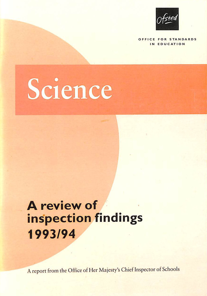 Image for Science 1993-94: A Review Of Inspection Findings