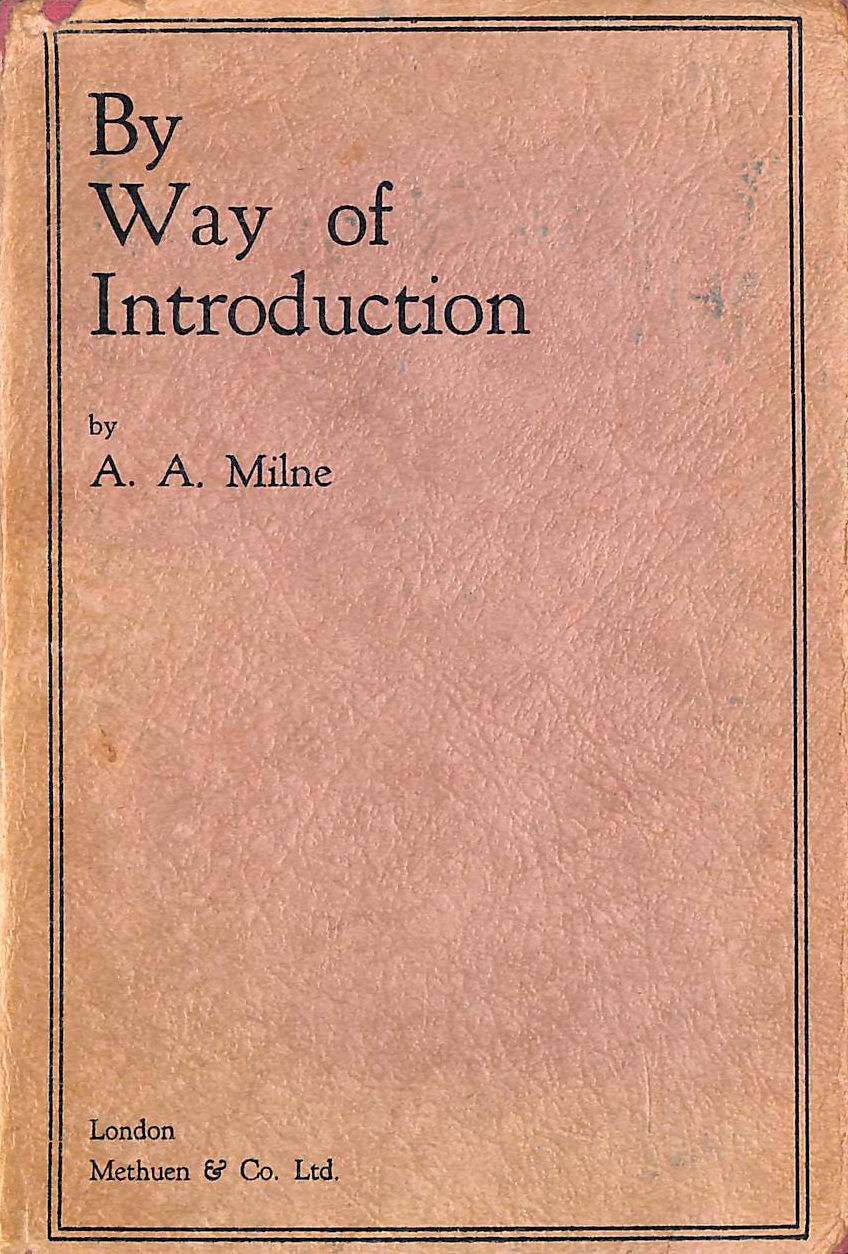 Image for By Way Of Introduction