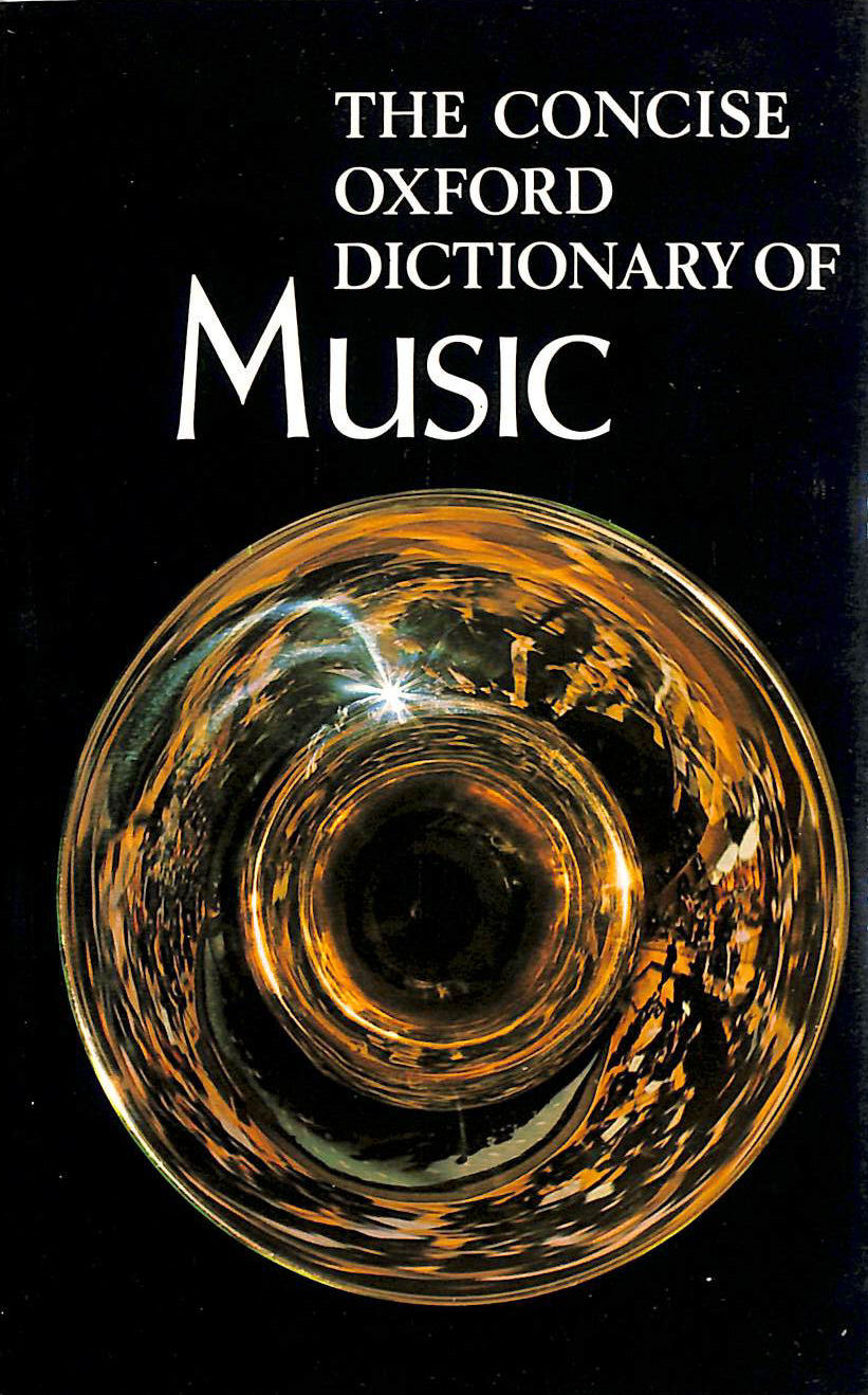 Image for Concise Oxford Dictionary Of Music