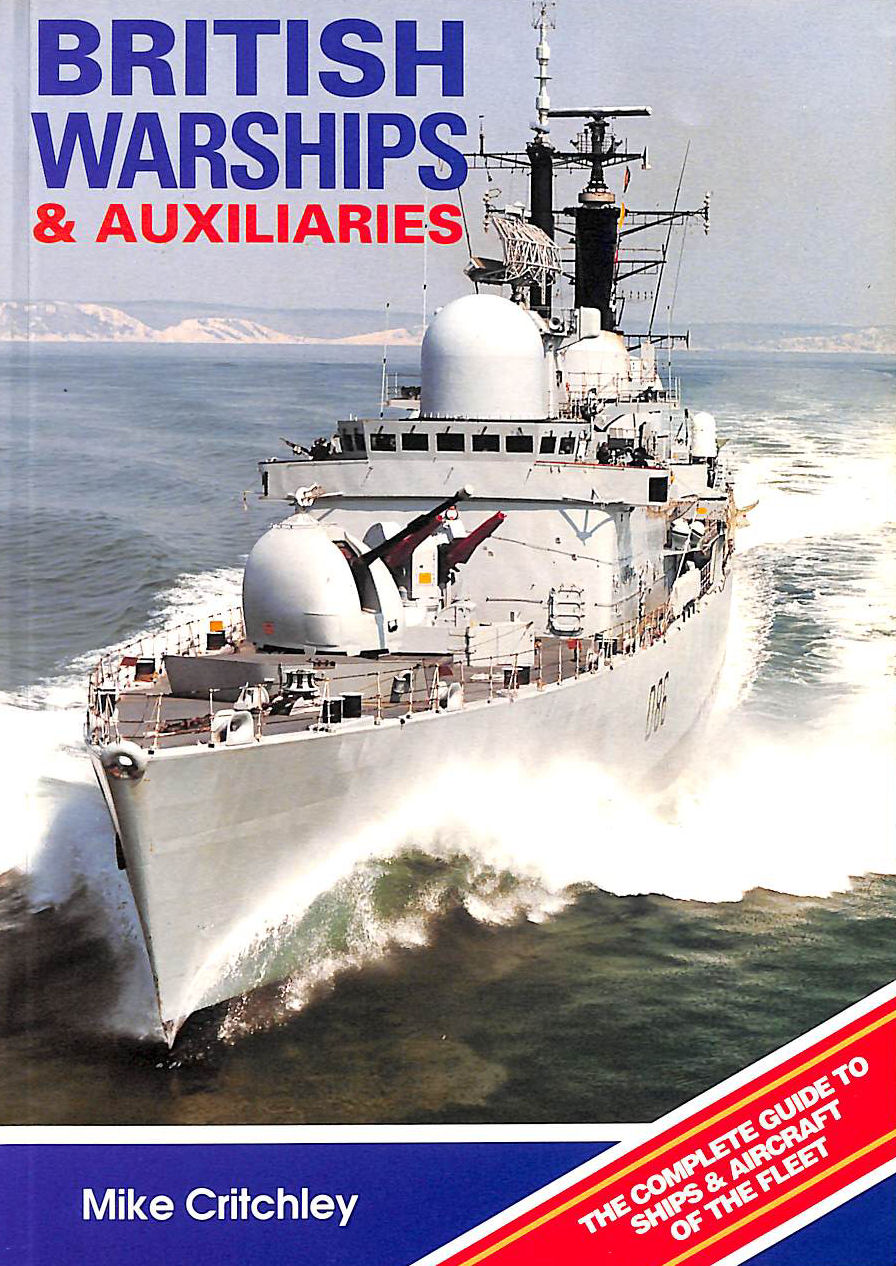 Image for British Warships And Auxiliaries 1991-92