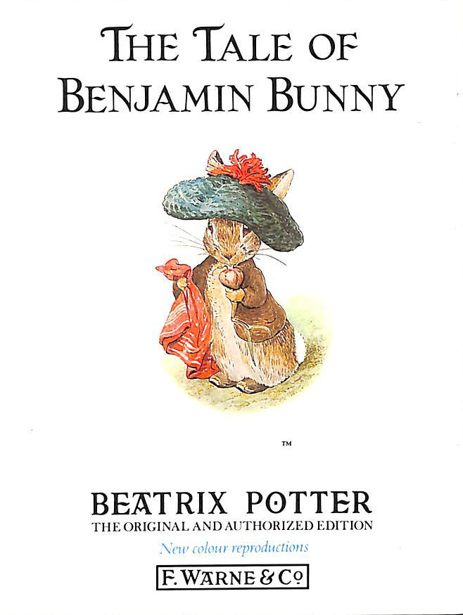 Image for The Tale Of Benjamin Bunny (Beatrix Potter Originals)
