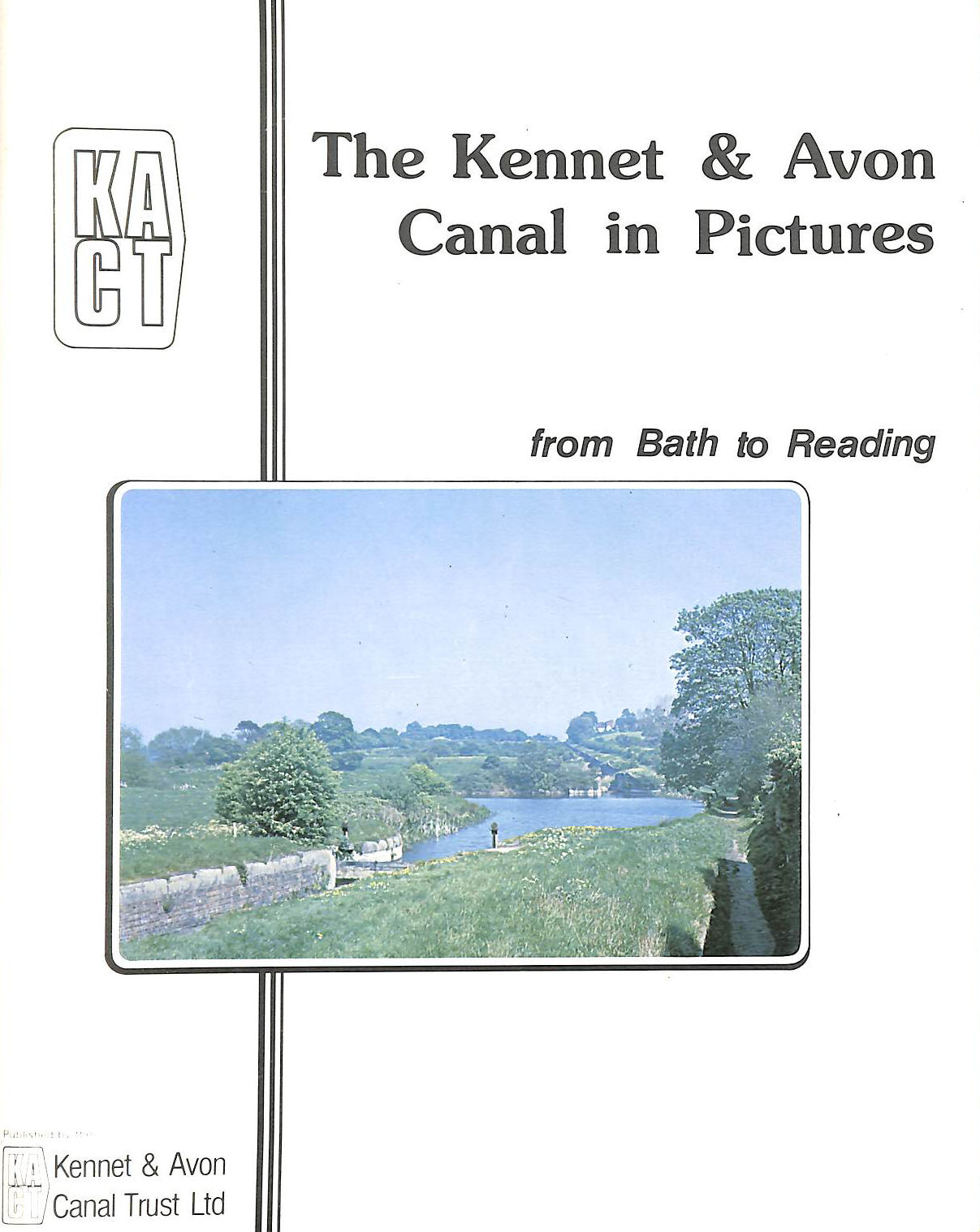 Image for Kennet And Avon Canal In Pictures From Bath To Reading