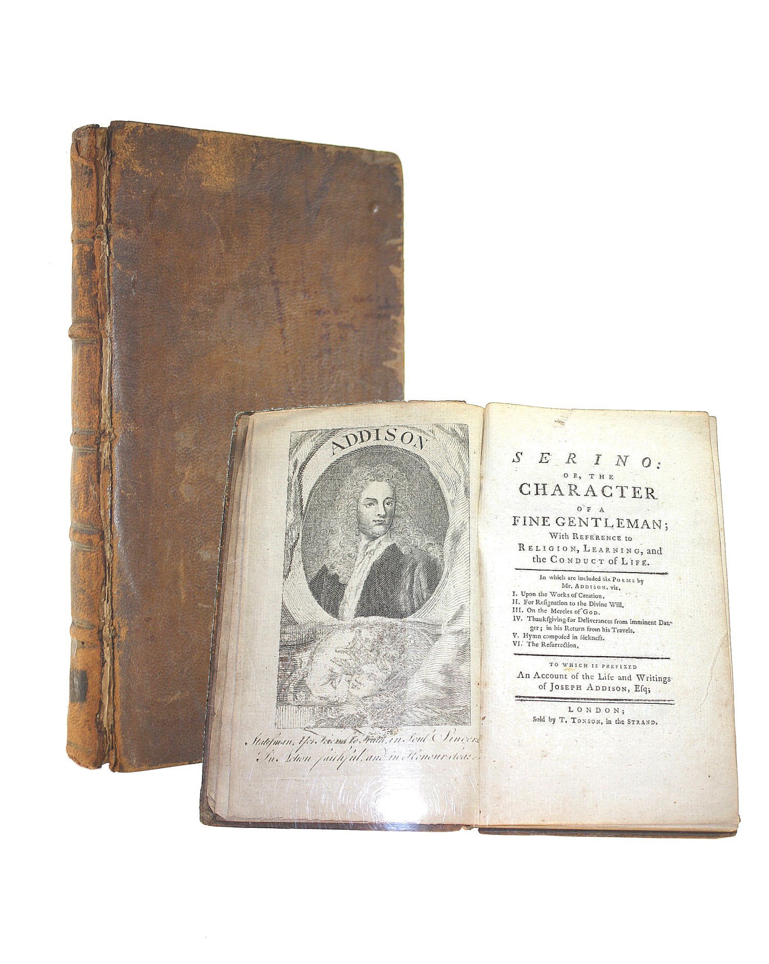 Image for Serino : Or, The Character Of A Fine Gentleman : With Reference To Religion, Learning, And The Conduct Of Life : In Which Are Included Six Poems By Mr. Addison ... To Which Is Prefixed An Account Of The Life And Writings Of Joseph Addison