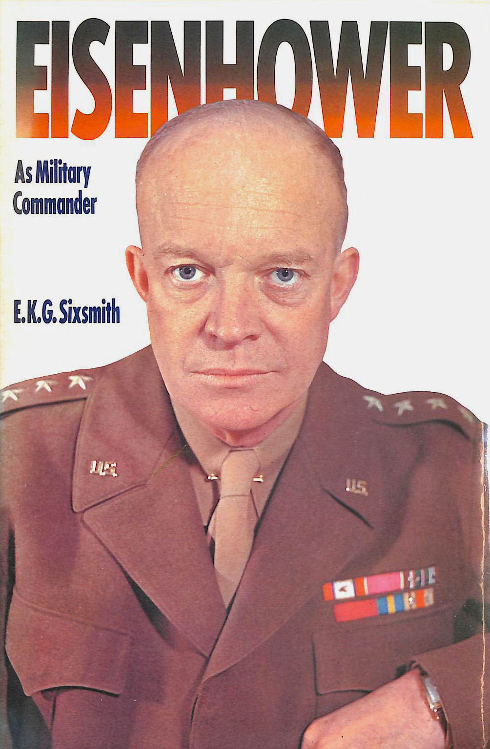 Image for Eisenhower As Military Commander (Military Commanders)