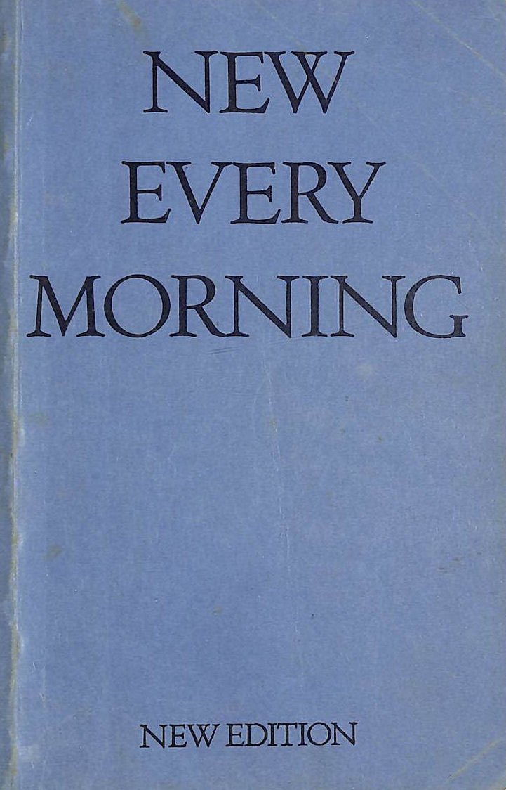 Image for New Every Morning