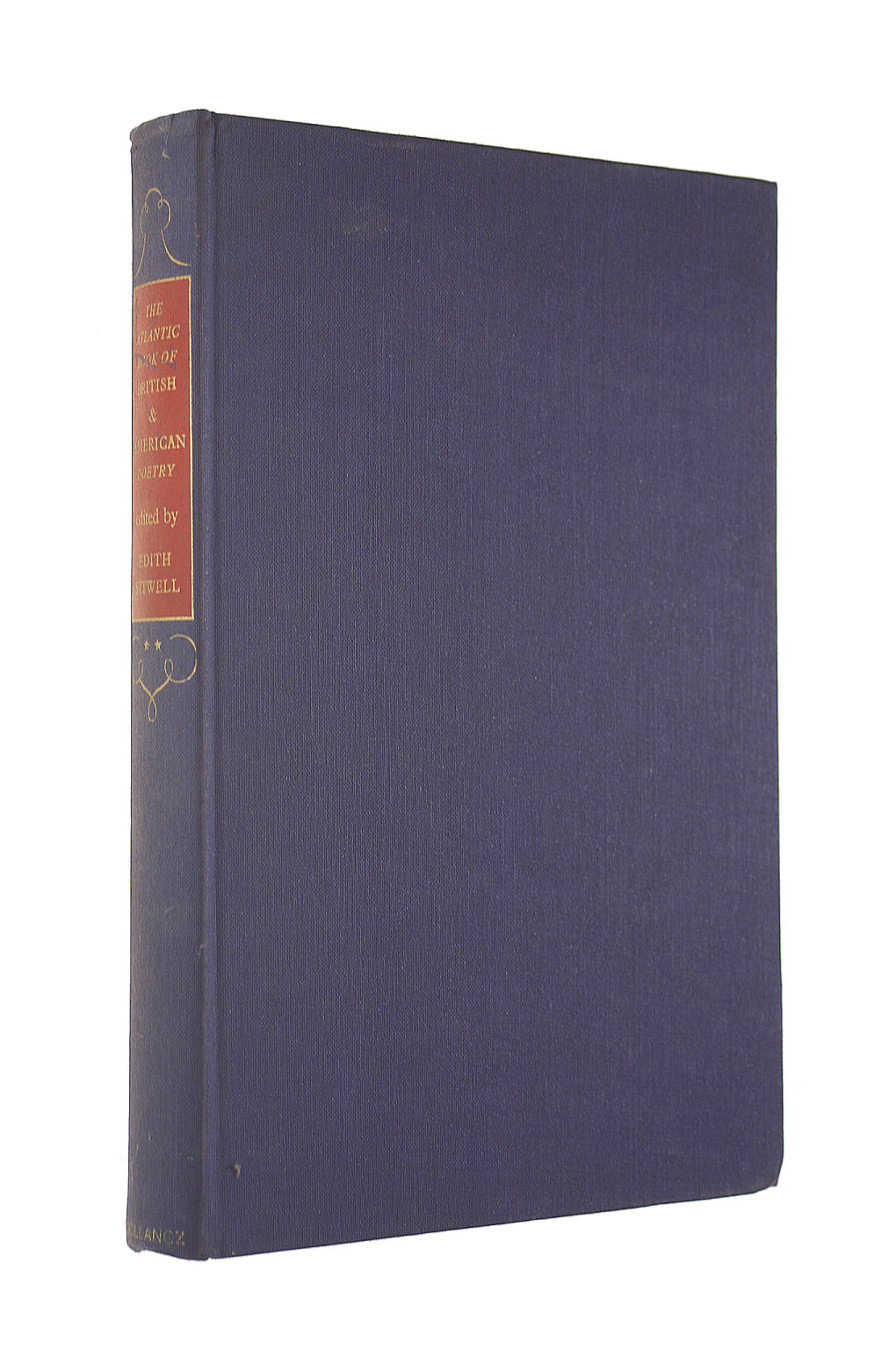 Image for The Atlantic Book Of British And American Poetry. Volume Ii