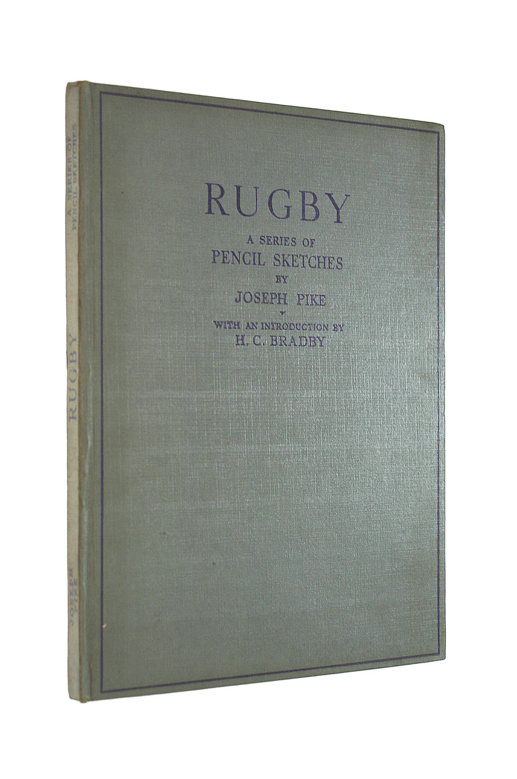 Image for Rugby: A Series Of Pencil Sketches