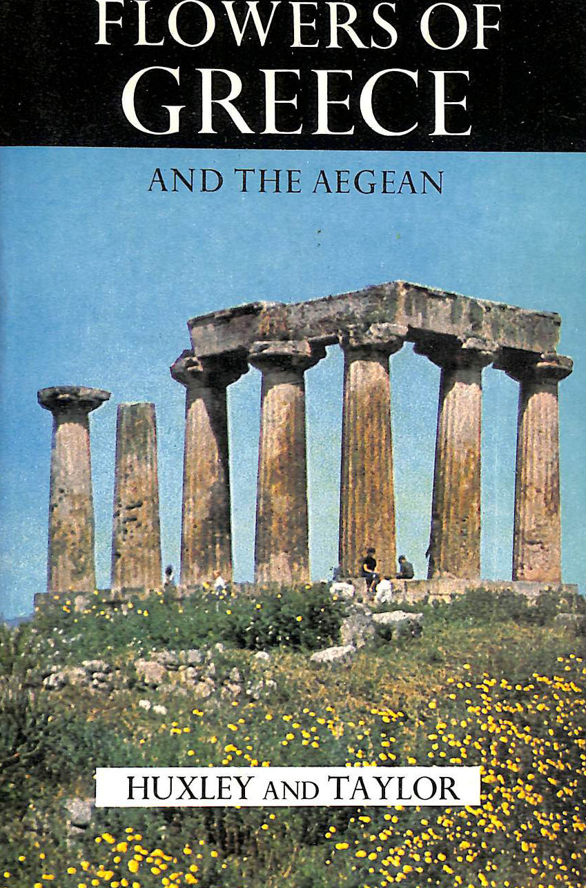 Image for Flowers Of Greece And The Aegean