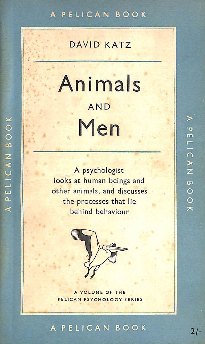 Image for Animals And Men : Studies In Comparative Psychology