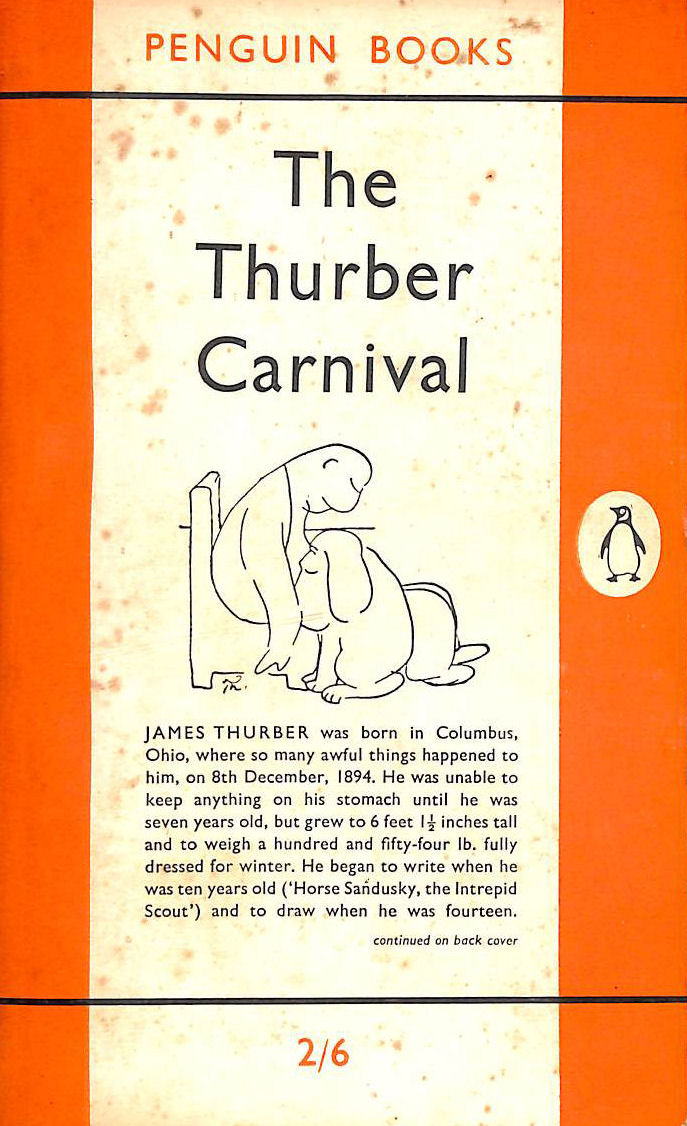 Image for The Thurber Carnival.