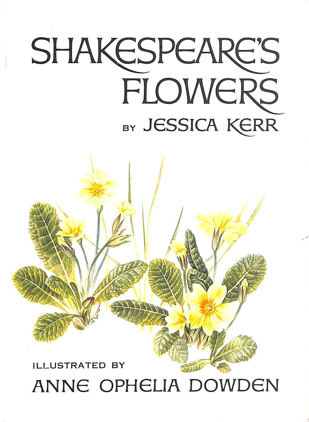 Image for Shakespeare'S Flowers