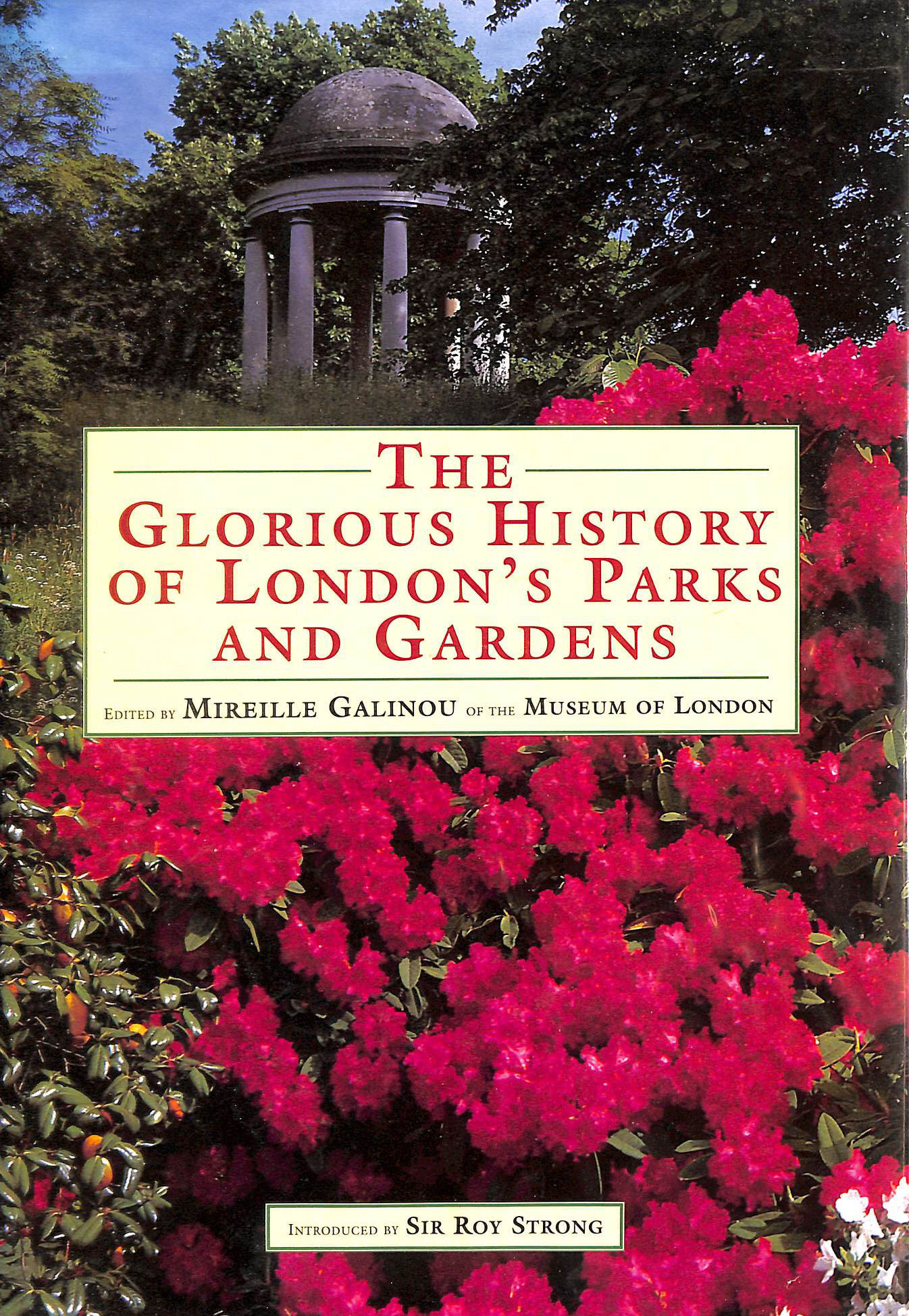 Image for Glorious Hist Londons Parks/Ga: Glorious History Of The Capital'S Gardens