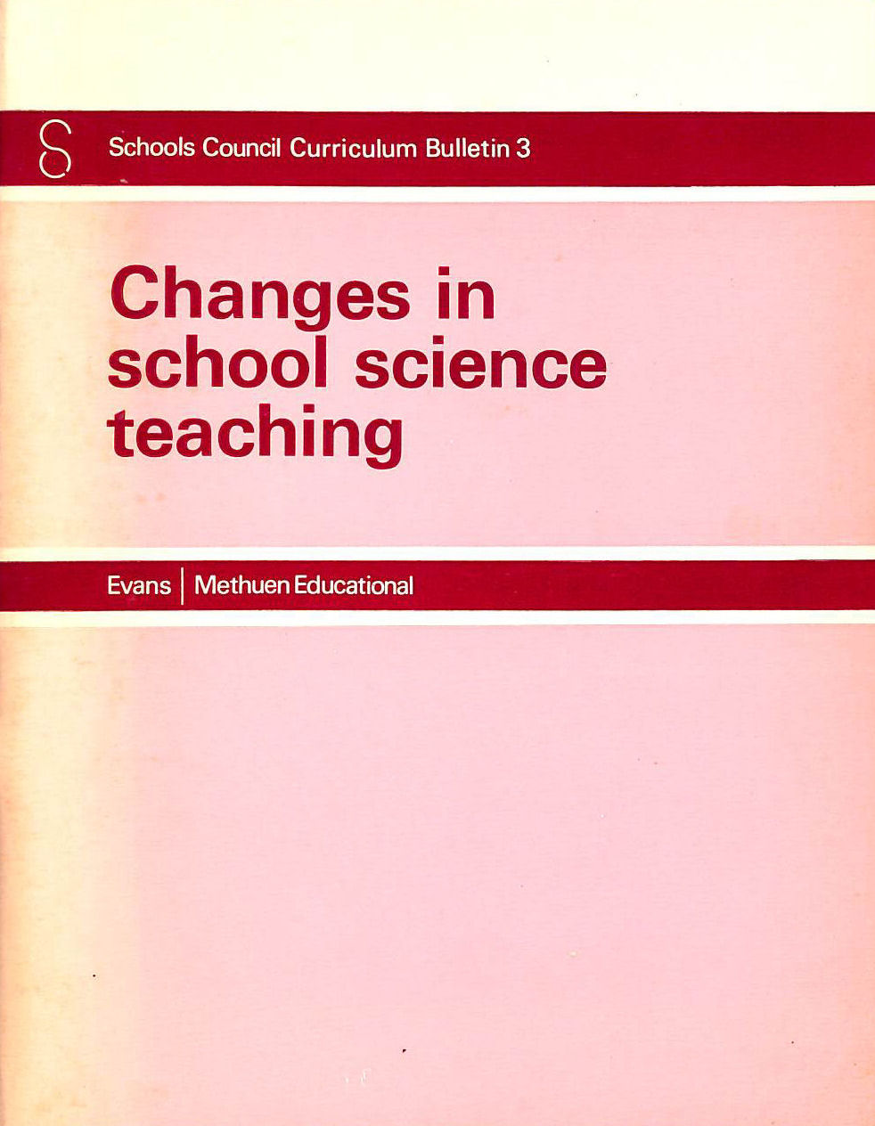 Image for Changes In School Science Teaching