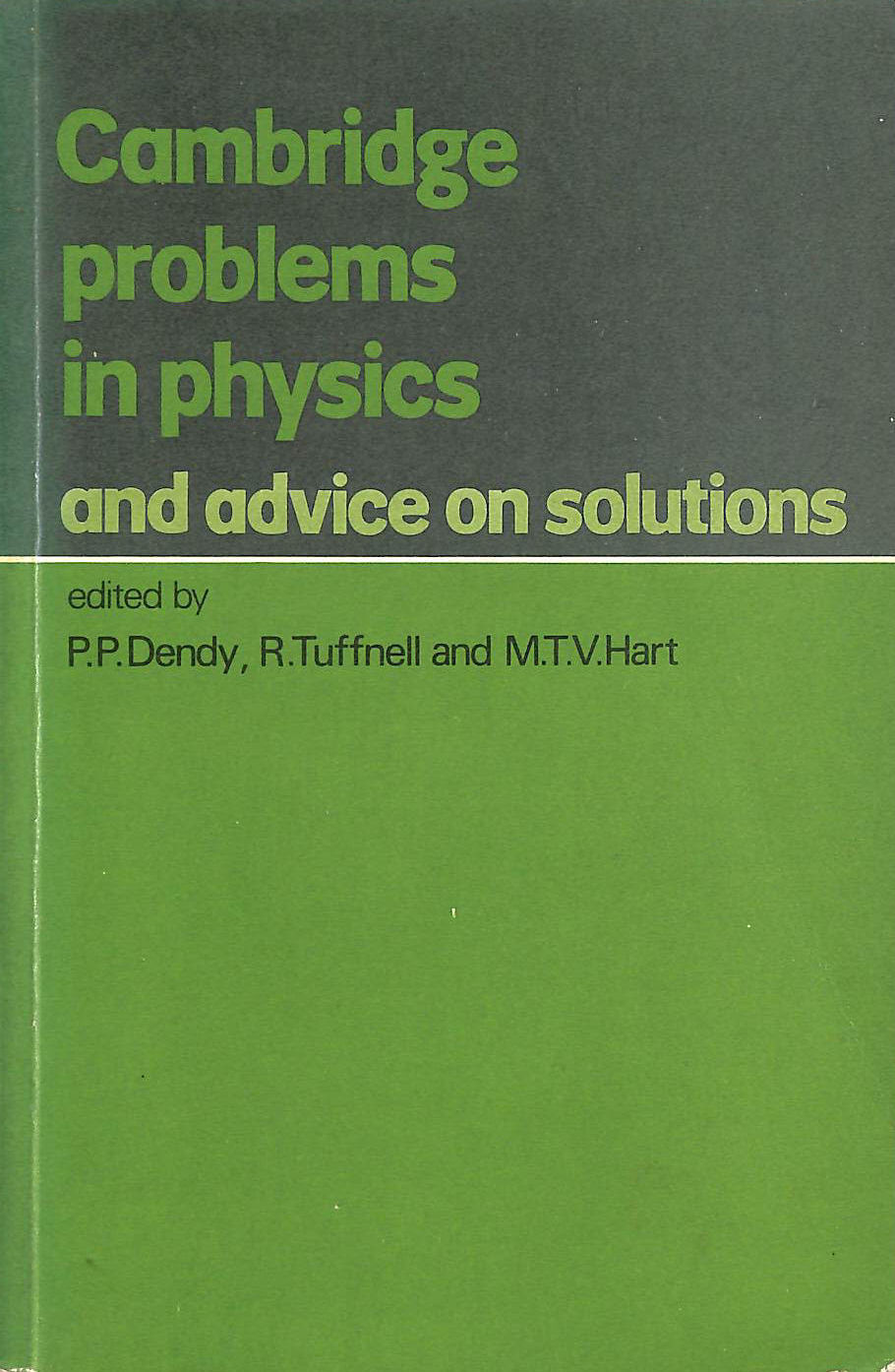Image for Cambridge Problems In Physics