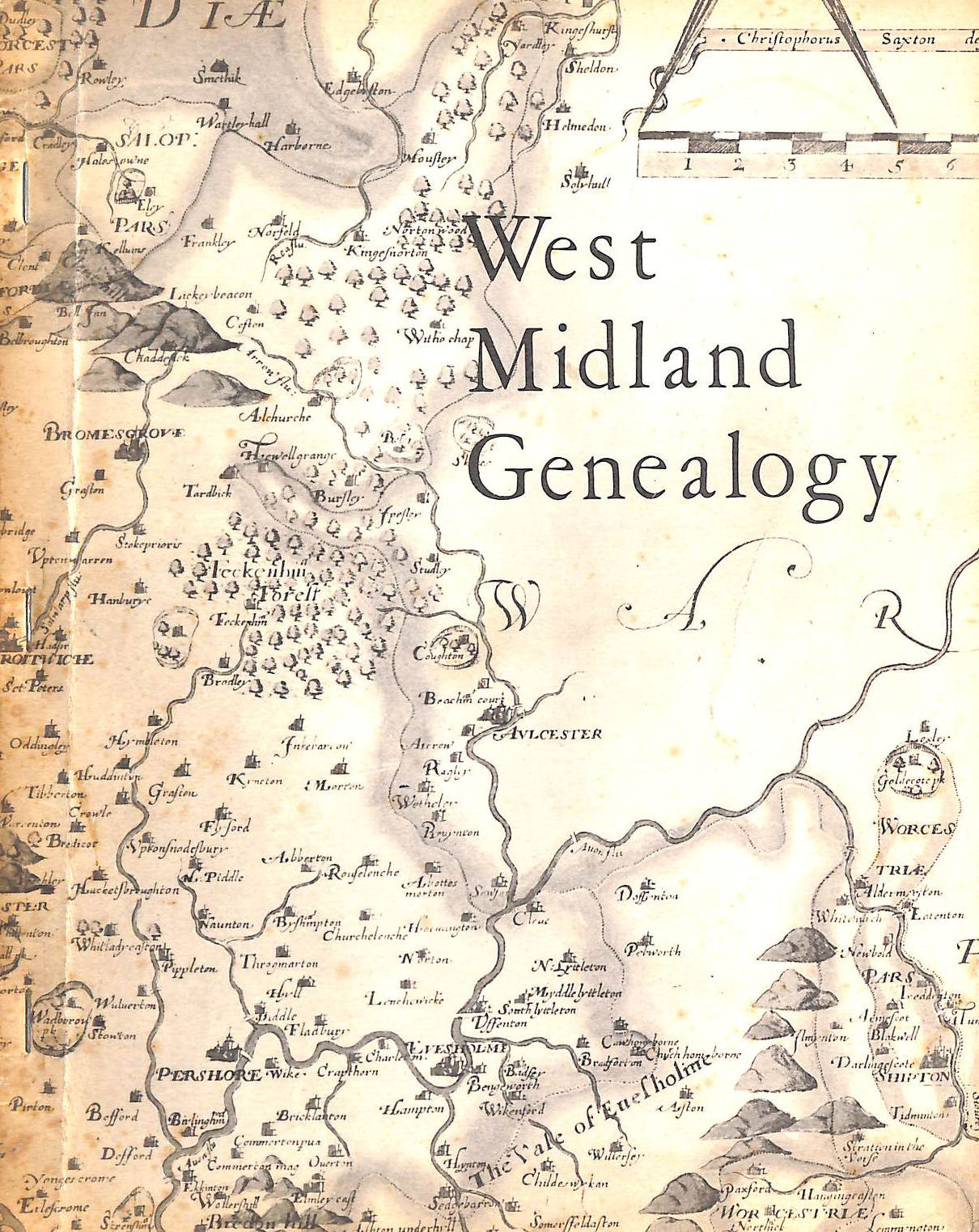 Image for West Midland Genealogy: A Survey Of The Local Genealogical Material Available In The Public Libraries Of Herefordshire, Shropshire, Staffordshire, Warwickshire And Worcestershire