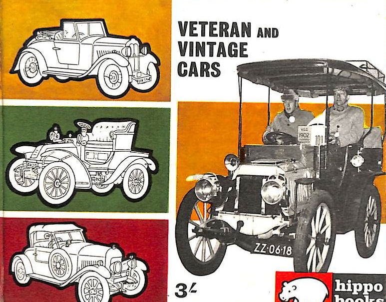 Image for Veteran And Vintage Cars Hippo Books No .9