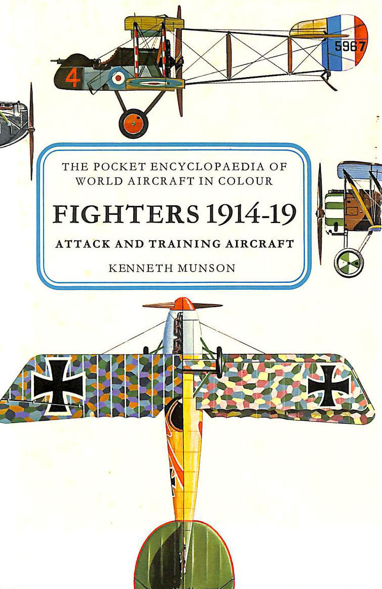 Image for Pocket Encyclopaedia of World Aircraft: Fighters, 1914-19 (Colour)