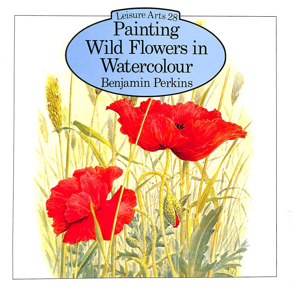 Image for Painting Wild Flowers in Watercolour (Leisure Arts)