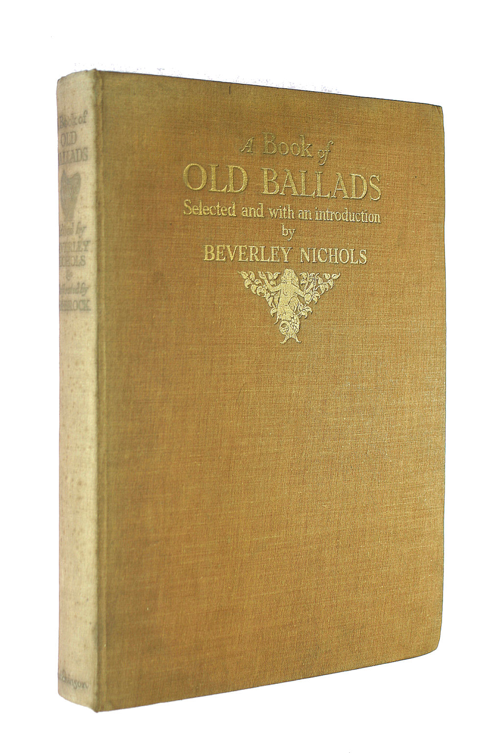 Image for A Book of Old Ballads