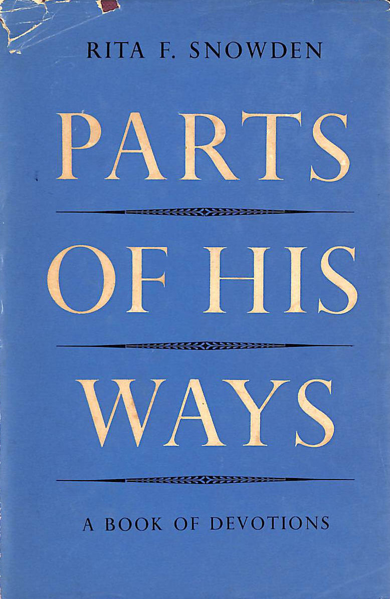 Image for parts of His Ways