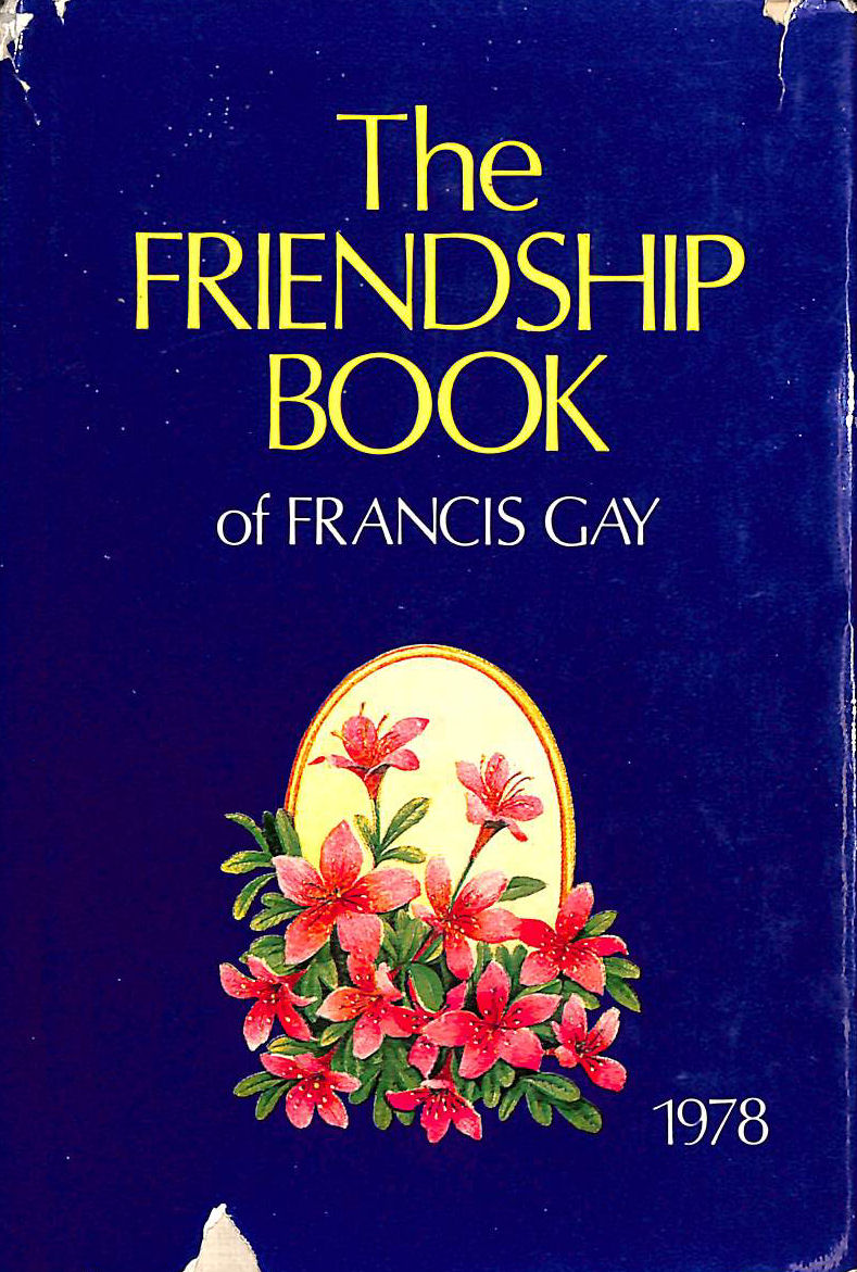 Image for Friendship Book of Francis Gay - 1978