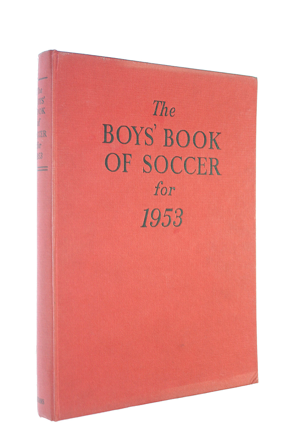 Image for The Boys Book of Soccer for 1953
