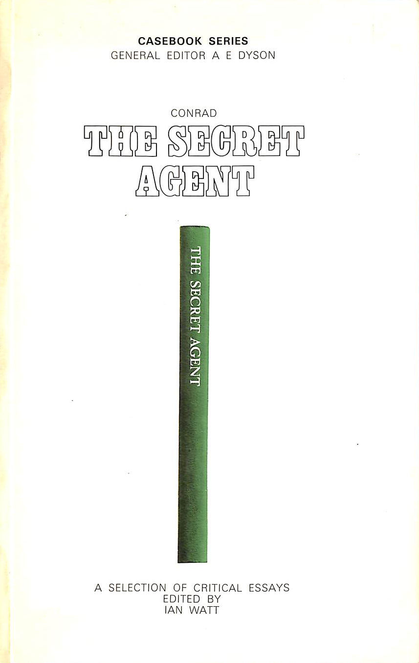 Image for Conrad's The Secret Agent, A Selection of Critical Essays