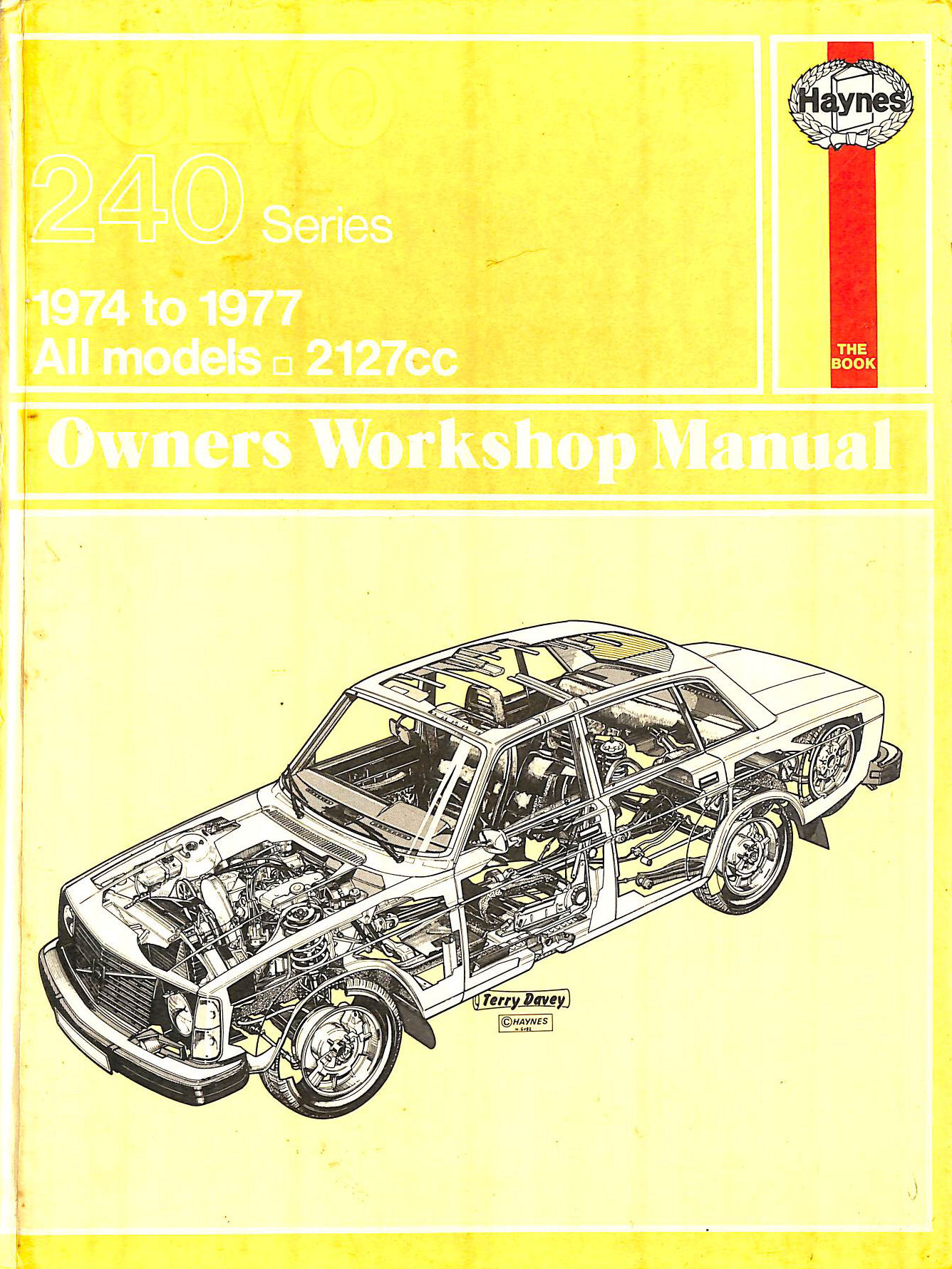 Image for Volvo 240 Series Owner's Workshop Manual (Haynes owners workshop manuals)