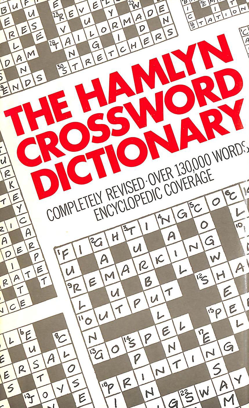 Image for Crossword Dictionary