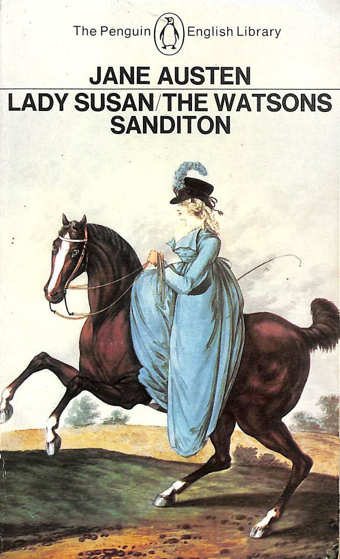 Image for Lady Susan, The Watsons/Sanditon