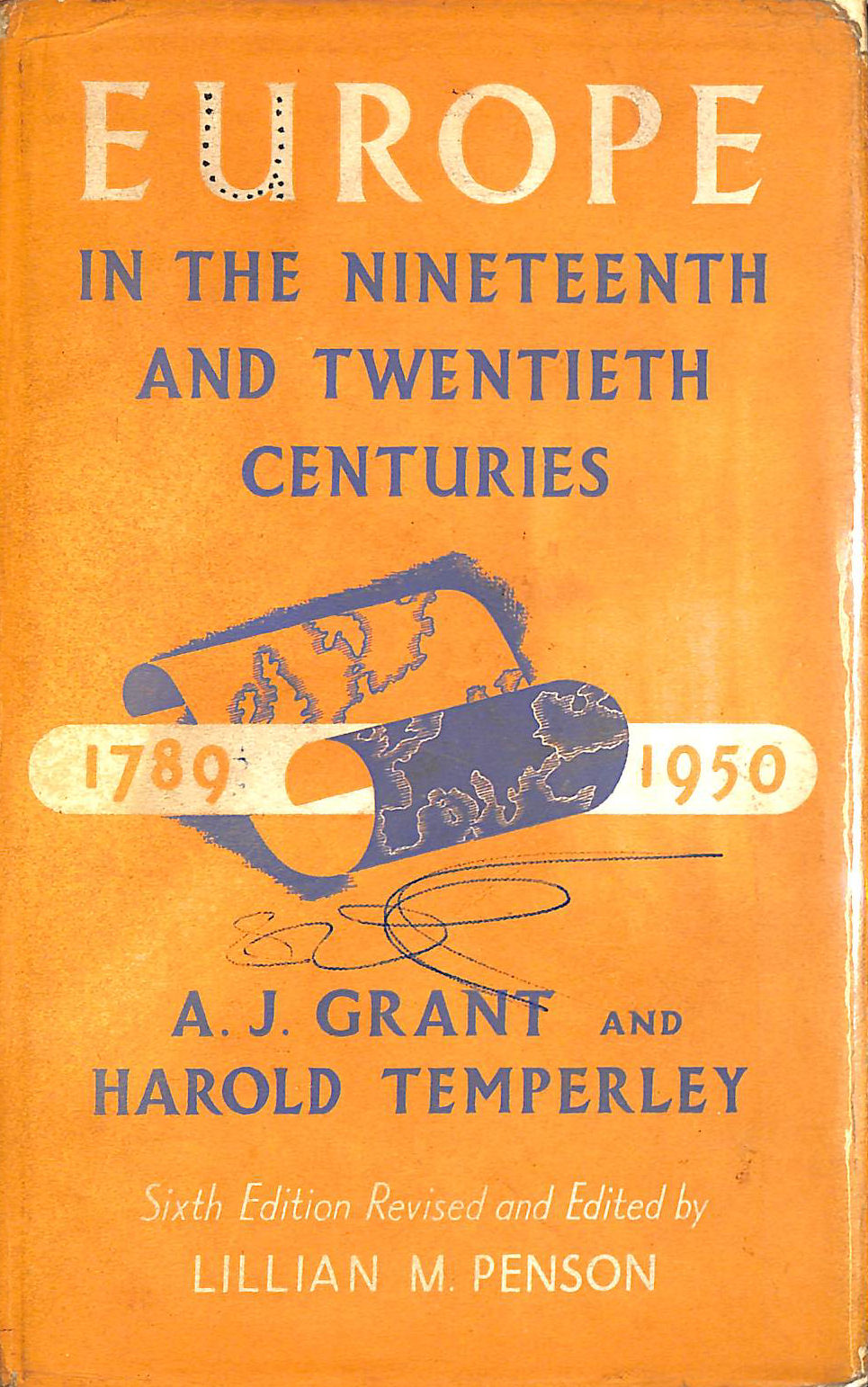 Image for Europe In The Nineteenth And Twentieth Centuries (1789-1950).