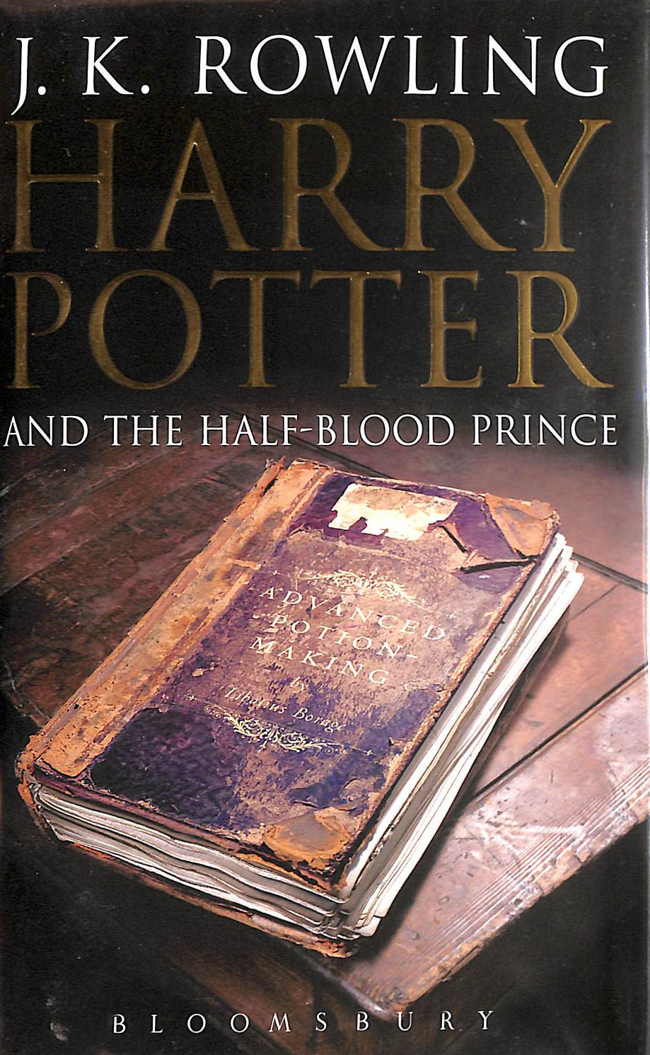 Image for Harry Potter and the Half-blood Prince: Adult Edition (Harry Potter 6): 6/7