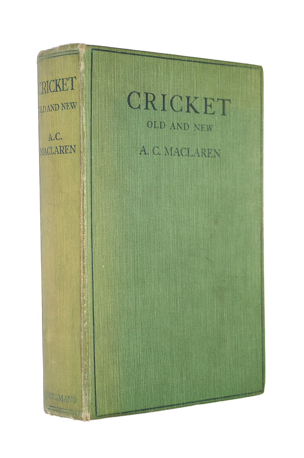 Image for Cricket old and new: a straight talk to young players