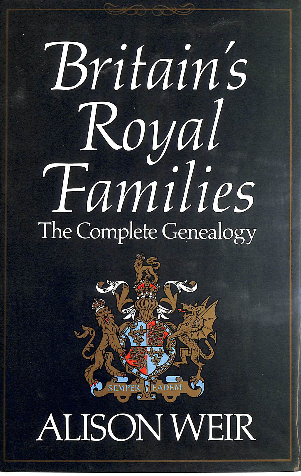 Image for Britain's Royal Families: The Complete Genealogy