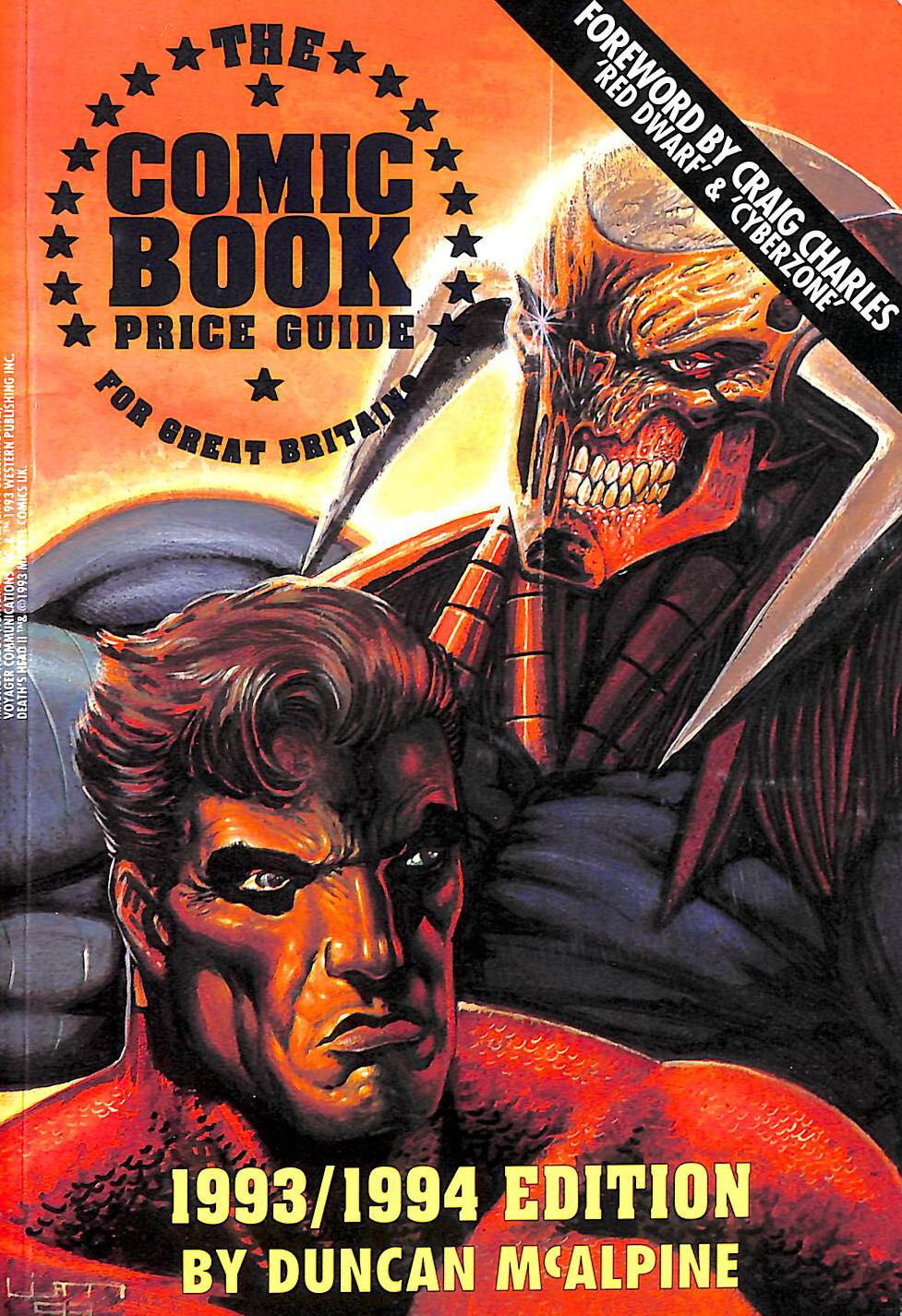 Image for The Comic Book Price Guide for Great Britain 1993-94