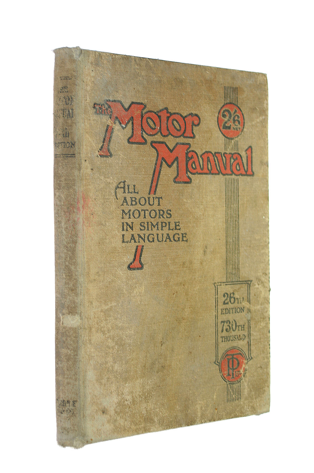 Image for The Motor Manual ? 26th (Twenty Sixth) Edition