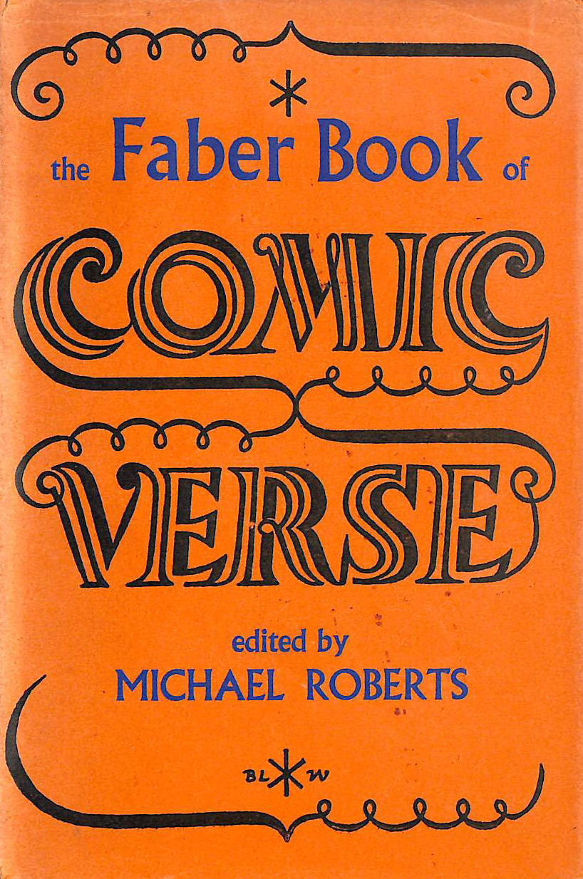 Image for The Faber Book of Comic Verse